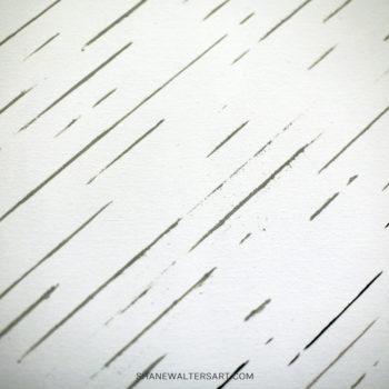 White Minimalist Texture Painting Shane Walters 4308