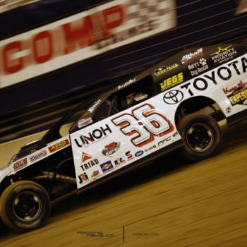 Gateway Dirt Nationals Kenny Wallace Testing Photos 4968
