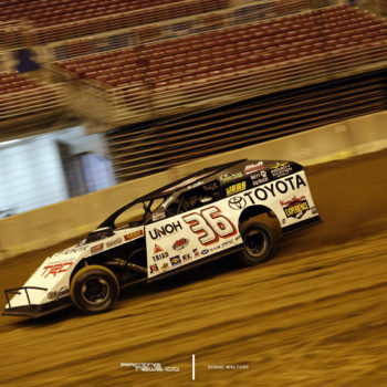 Gateway Dirt Test Photo - Kenny Wallace 4980