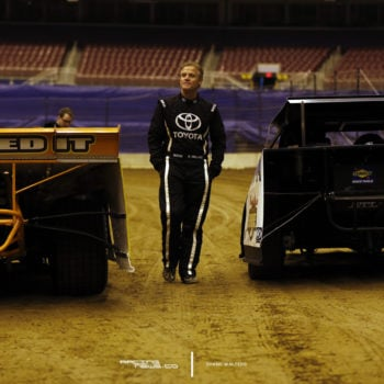 Kenny Wallace Walks Gateway Dirt Track 4819